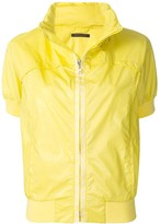 Louis Vuitton pre-owned stand-up collar short-sleeved jacket