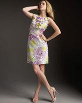 Reina Floral-Print Dress