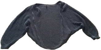 Benetton Blue Cotton Knitwear