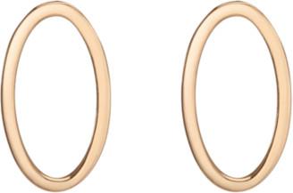 AUrate New York Oval Stud Earrings