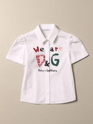 Dolce & Gabbana Dolce Gabbana Shirt With We Are Logo