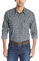 Cinch Men's Modern Fit Western Print with Snaps
