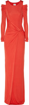 ALICE by Temperley Lucio draped crepe-jersey maxi dress