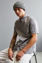 Urban Outfitters Overdyed Pigment Short Sleeve Button-Down Shirt