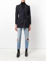 John Galliano Pre Owned pinstripe jacket