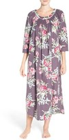 Carole Hochman Women's Print Flannel Nightgown