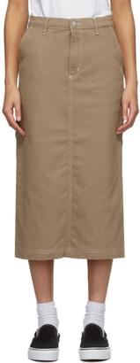 Carhartt Work In Progress Beige Pierce Skirt
