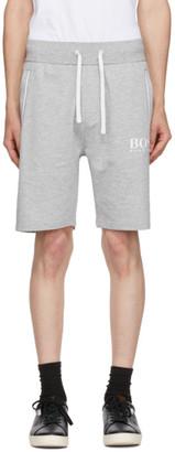 HUGO BOSS Grey French Terry Light Shorts
