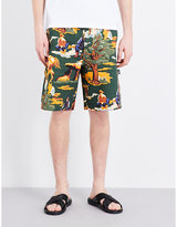 Stella Mccartney Tree-print Denim Shorts