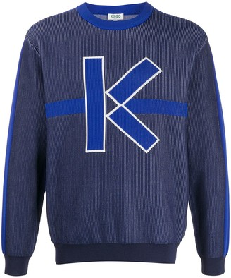 Kenzo K-jacquard sweater