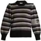 Sonia Rykiel Striped-wool sweater