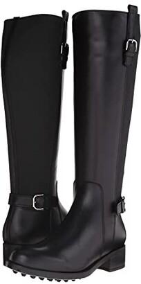 La Canadienne Sefora (Black Leather) Women's Dress Boots