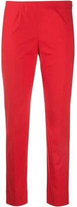 Piazza Sempione Low-Rise Slim Fit Trousers