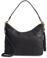 Hobo Delilah Convertible Calfskin Leather Bag - Black