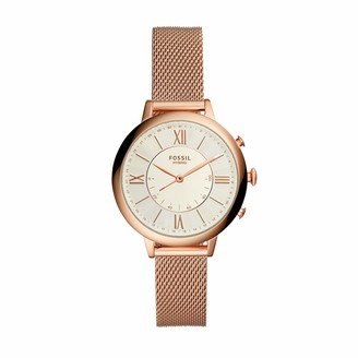 Fossil Women's Hybrid Connected Smartwatch with Stainless Steel Strap FTW5018