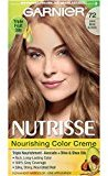 Garnier Nutrisse Nourishing Color Creme, 72 Dark Beige Blonde (Sweet Latte) (Packaging May Vary)