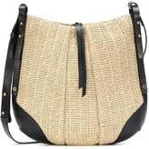 Isabel Marant Lecky Medium raffia shoulder bag