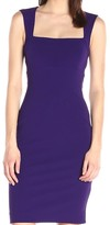 Nicole Miller Women's Structured Heavy Jersey Seamed Dress