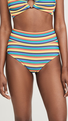 Montce Swim High Rise Bikini Bottoms