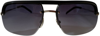 Saint Laurent Blue Metal Sunglasses