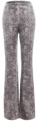 Renamed Clothing Flare Snake Pant