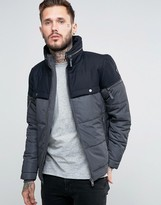 Diesel W-archers Quilted Jacket 2 Tone