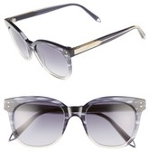 Victoria Beckham Women's The 52Mm Retro Sunglasses - Black/ Soft Grey