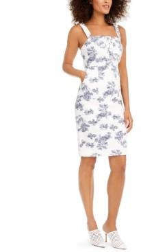 INC International Concepts Inc Printed Denim Dress, Created for Macy's