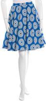 Alice + Olivia Floral Knee-Length Skirt