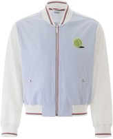 Thom Browne Bomber Jacket With Tennis Patch