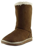 Osh Kosh Ivory Youth Round Toe Synthetic Brown Winter Boot.