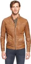 HUGO BOSS 'Jips' | Stand Collar Sheepskin Jacket by BOSS Orange