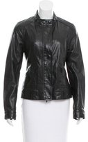 Vince Leather Biker Jacket