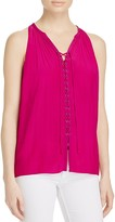 Ramy Brook Patricia Lace Up Top