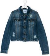 MSGM casual denim jacket