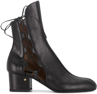 Laurence Dacade Cut-Out Detail Ankle Boots