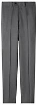 Aquascutum Twill Wool Suit Trousers, Grey