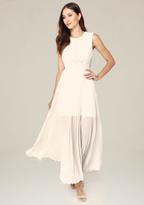 Bebe Petite Back Cutout Dress