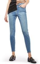 Topshop Petite Women's Jamie High Waist Skinny Jeans