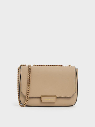 Charles & Keith Structured Crossbody Bag