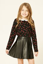 Forever 21 FOREVER 21+ Girls Cherry Print Top (Kids)