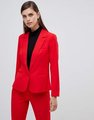 UNIQUE21 Unqiue 21 tailored single button blazer