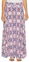 Rachel Pally Print Gathered Maxi Skirt