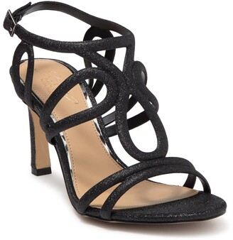 Badgley Mischka Simba Embellished Strappy Sandal