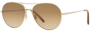 Oliver Peoples Rockmore Photochromic Metal Aviator Sunglasses