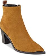 Marc Fisher Nellien Pointy-Toe Block-Heel Booties
