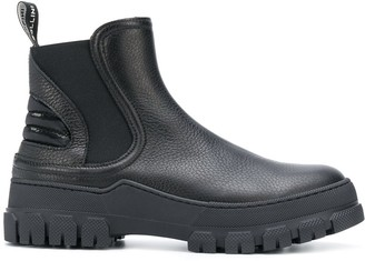 Pollini Track Sole Ankle Boots
