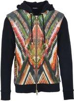 Balmain Men's S7h6042i027192 Multicolor Cotton Sweatshirt
