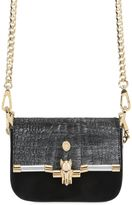 Trussardi Embossed Laminated Bag For Lvr