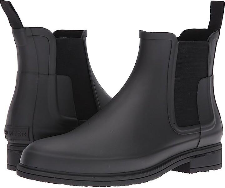 Hunter Refined Dark Sole Chelsea Boots